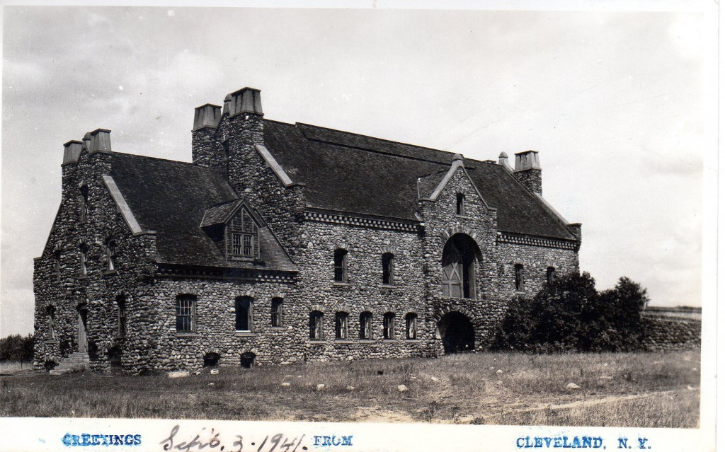 Figure VI - Stone Barn abt. 1941 (Postcard 1941)