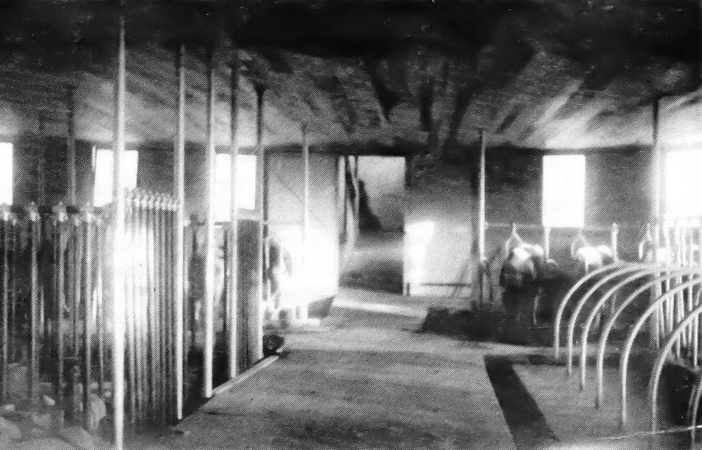 Figure IV - The cow barn in its original form [41]