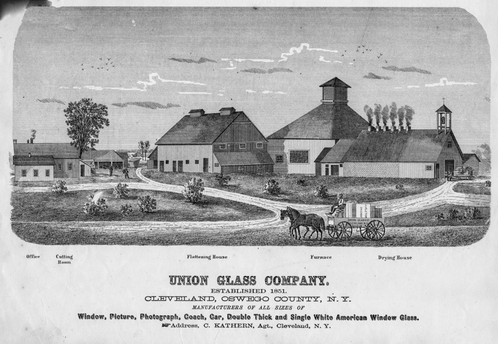 Union Glass Factory (Cleveland Historical Society)
