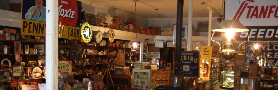 Inside Country Store Antiques