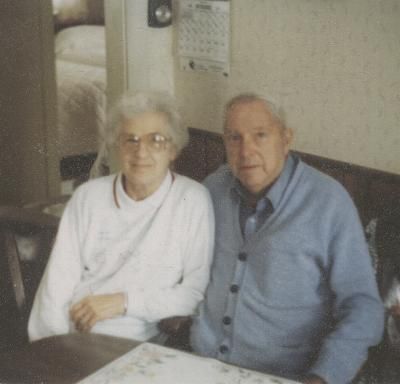 John and Mae Cole Winker, youngest daughter of Edward and Alice Brown Cole