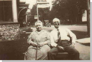 Anna Sophia Cole Morse and youngest brother John (Jack) B. Cole