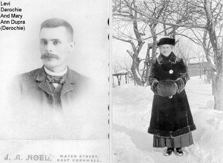 Levi and Mary Dupuis DeRochie