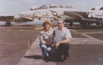Tom Cole DeRochie and wife Betty