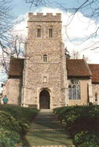 This photo is of the church in Playford, Suffolk, Eng. where Thomas Cole and Rebecca Jane Gooding got married on Sept. 7, 1820. They couldn't get married in Ipswich because the Church of England was the only one that could perform marriages until 1837 as I recall.